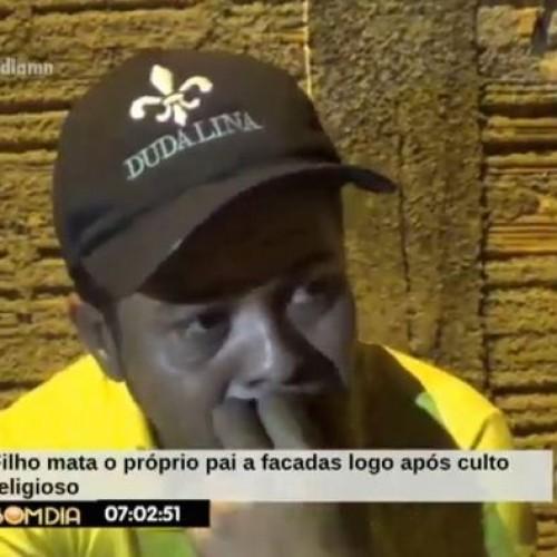 Jovem é preso após matar o próprio pai durante discussão por droga no Piauí