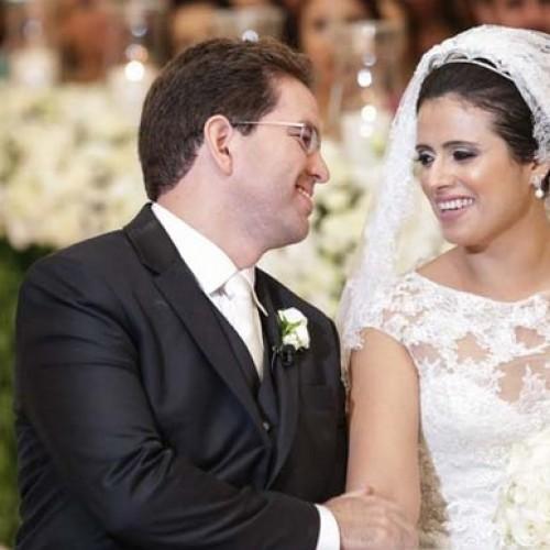 GENTE EM EVIDÊNCIA | Larissa e Mávio casam em linda cerimônia; veja fotos