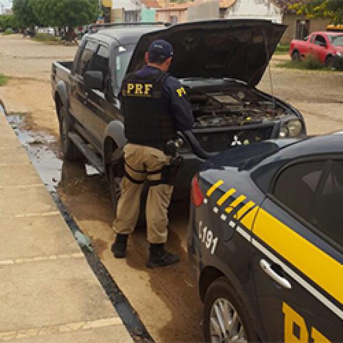 'Operação Guaribas' prende 3 pessoas e apreende 13 veículos na região de Fronteiras, Marcolândia e Picos