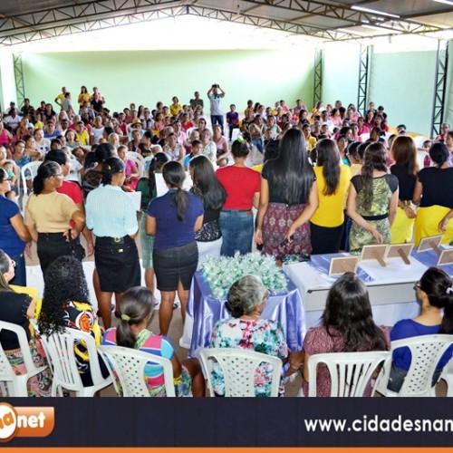 Mulheres são homenageadas pela Prefeitura Municipal de Vera Mendes
