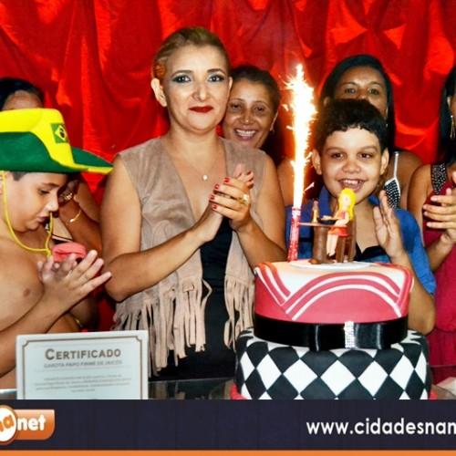 Confira as fotos do aniversário de Benilda Bispo na AABB  em Jaicós