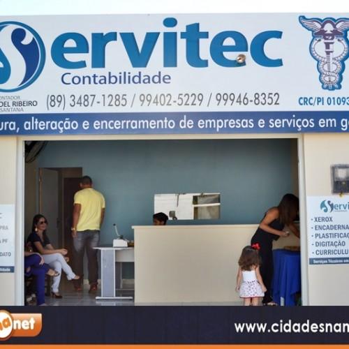 """Inaugurado em Jaicós a """"Servitec Contabilidade"""". Veja!"""