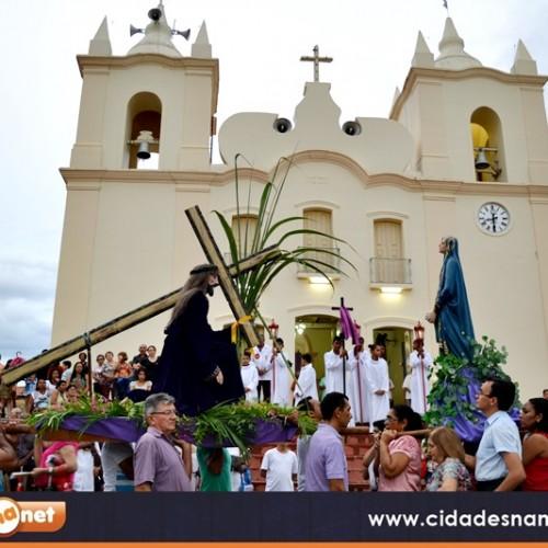 Procissão dos Passos reúne fiéis em Jaicós; veja as imagens!