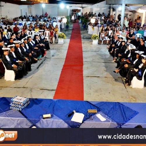 FOTOS   Formatura do curso de Pedagogia da Faculdade Evangélica Cristo Rei