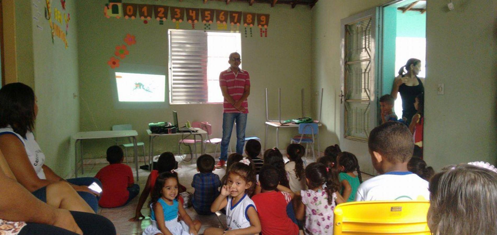 Prefeitura leva ações do Projeto Fonoaudiologia Escolar na Creche Tia Biluca em Massapê