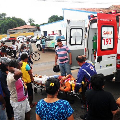Mulher morre após ser arrastada por caminhão e ter membros dilacerados