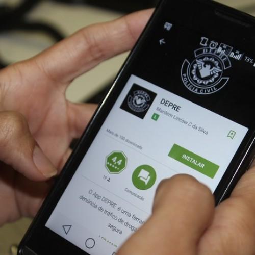 Polícia lança aplicativo para receber denúncia de tráfico de drogas no Piauí