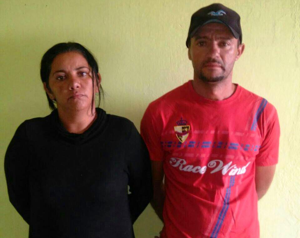 Maria de Lourdes e Francisco foram presos pelo crime