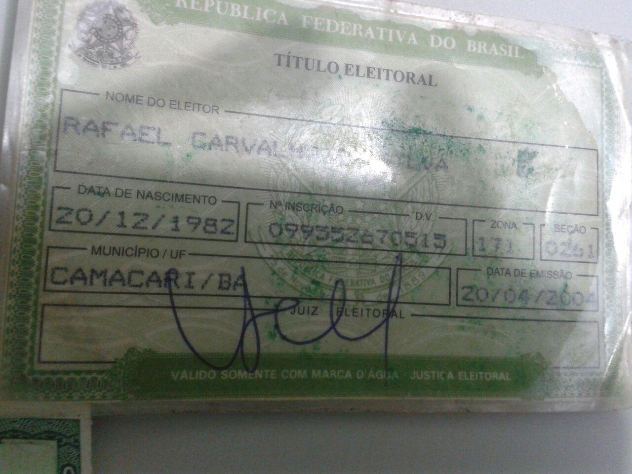 fabricio preso documento falso5jpg