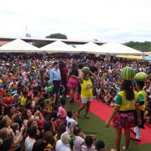 Festa da Melancia reúne competições, dança e muita música no Norte do Piauí