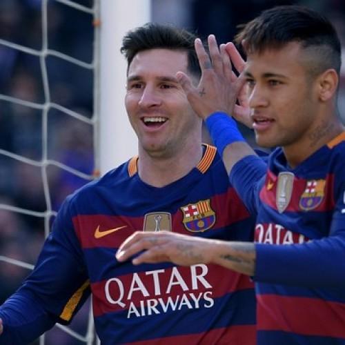 Barcelona massacra o Getafe com dois gols de Neymar e três assistências de Messi