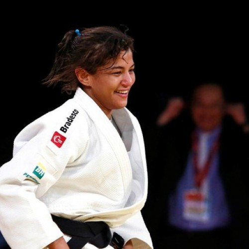 Sarah Meneses, esperança do  Brasil, luta hoje pelo bi