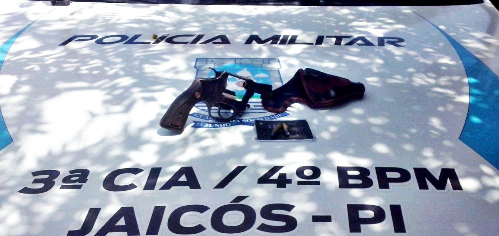 Polícia Militar prende homem armado em Jaicós
