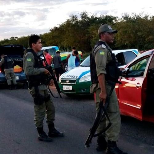 Polícia Militar intensifica a fiscalização na região de Jaicós; veja fotos