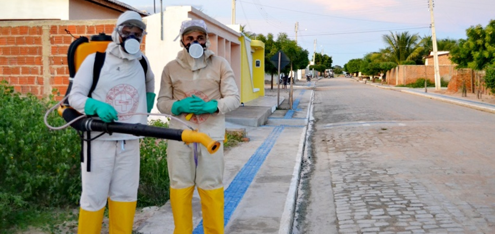 BELÉM | Saúde pulveriza cidade no combate ao mosquito aedes aegypti