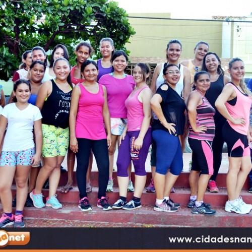 NASF  de Jaicós promove aulas de zumba para as mulheres; fotos!