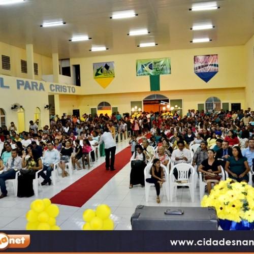 FOTOS | Aniversário de 40 anos da Igreja O Brasil para Cristo em Jaicós