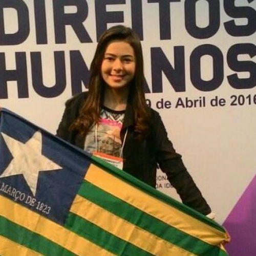 Adolescente de Vila Nova participa de X Conferência Nacional dos direitos da criança e do adolescente em Brasília