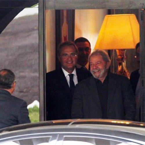 Renan Calheiros tem encontro com Lula e com Dilma