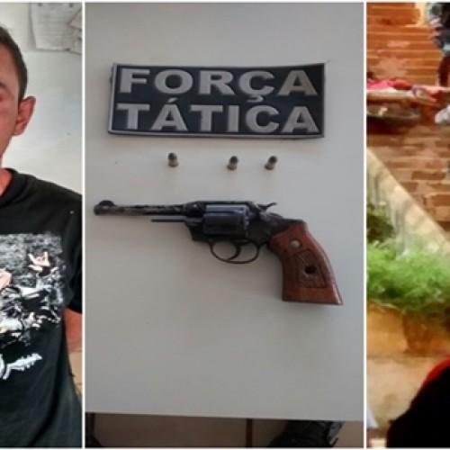 PM prende um dos acusados de assassinar menor em Picos