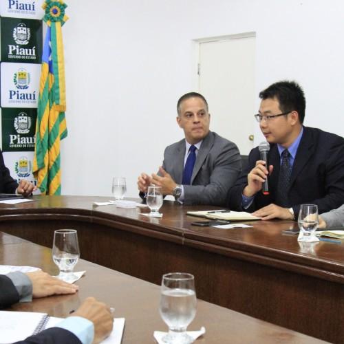Chineses querem investir em abastecimento de água no Piauí