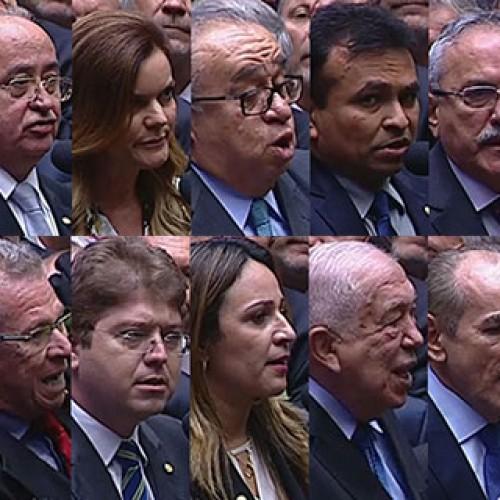 Bancada do Piauí se divide e dá cinco votos ao impeachment e cinco contra. Veja!