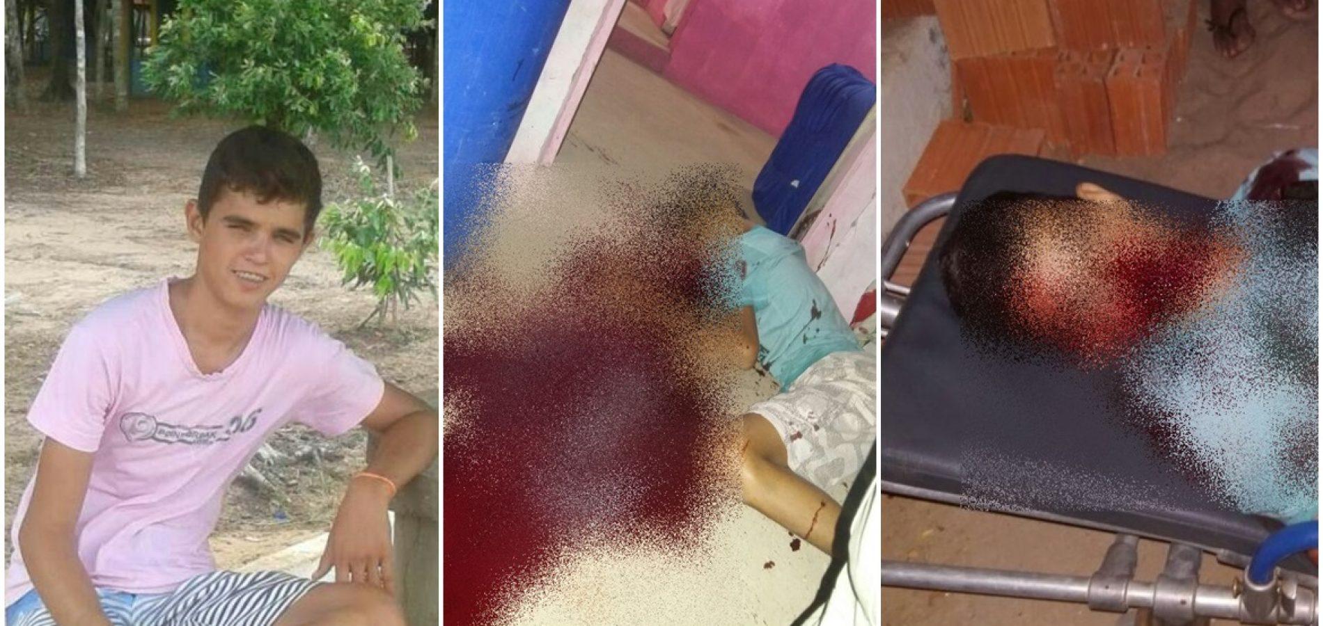 Adolescente de 16 anos é assassinado a tiros em Caldeirão Grande do Piauí