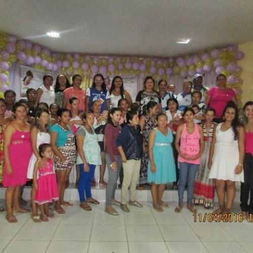 Caldeirão Grande do Piauí orienta mães sobre amamentação