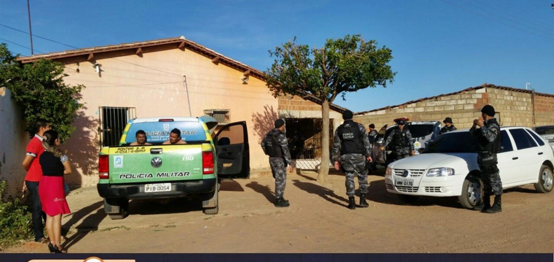 Polícias deflagram operação de combate ao tráfico em Simões, Marcolândia e Caridade; veja novas informações