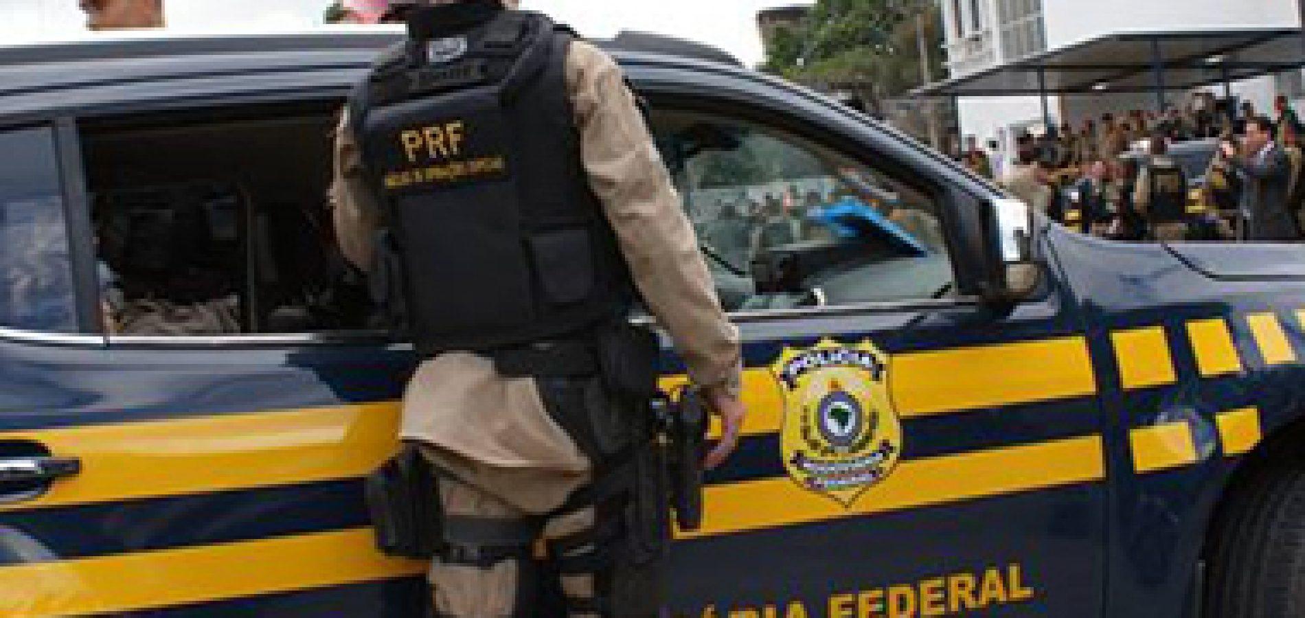 PRF prende no Piauí goiano foragido por ato libidinoso e cárcere privado