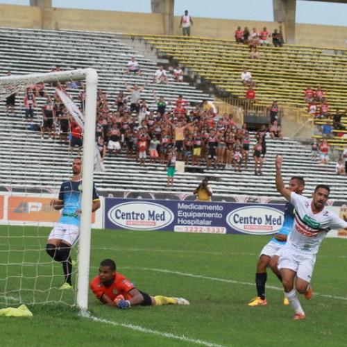 River vence o Picos por 4 a 0 no estádio Albertão