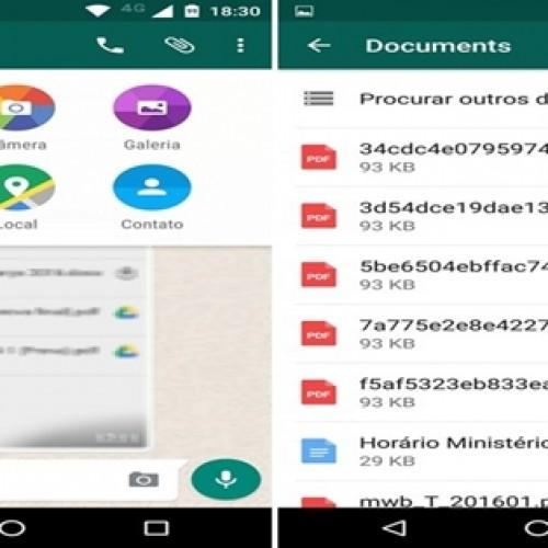 WhatsApp muda e libera envio de 'qualquer' arquivo pelo app