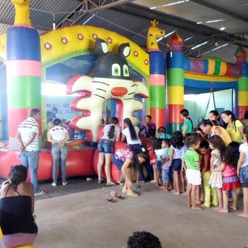 Vera Mendes realiza atividades na 'Semana Mundial do Brincar'