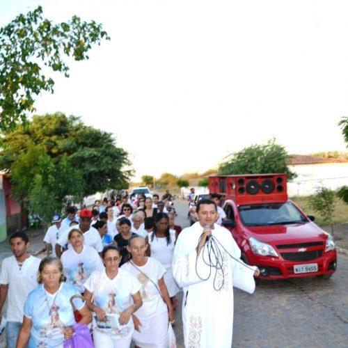 ALEGRETE DO PIAUÍ   Alvorada festiva e passeata abrem os festejos de Nossa Senhora de Fátima; Secretaria de saúde foram os noitários