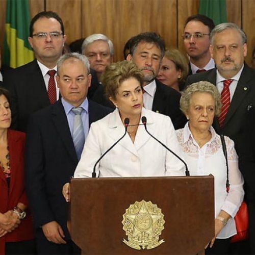 """Em primeiro discurso Dilma ataca : """"Tenho sido alvo de sabotagem"""""""