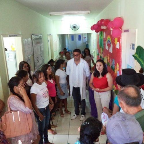 Dia 'D' marca início da campanha de vacinação contra gripe em Vera Mendes; fotos