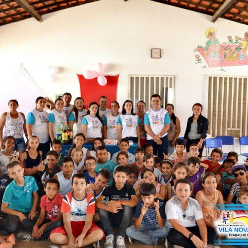 Município de Vila Nova encerra com oficinas temáticas atividades do Programa Mais Educação