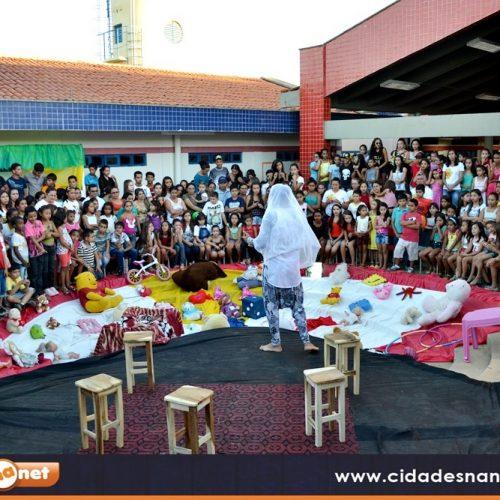 Caldeirão Grande realiza grande mobilização em defesa de crianças e adolescentes; veja fotos