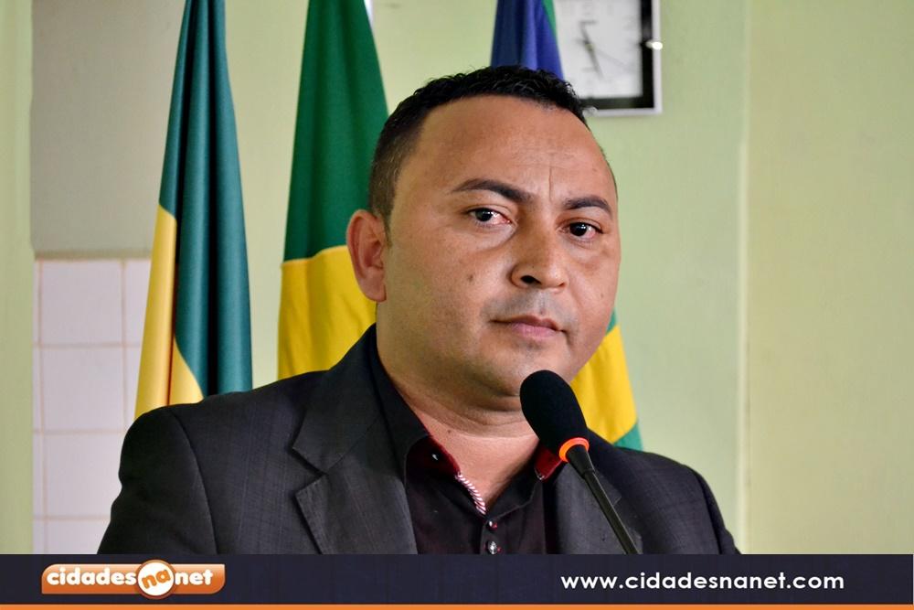 Vereador Luiz Evaristo de Sousa