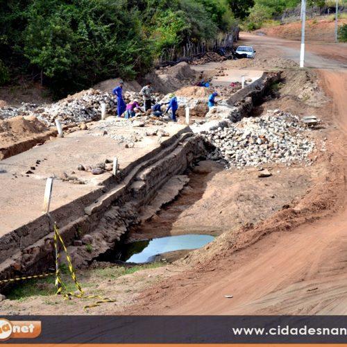 MASSAPÊ | R$ 122 mil são investidos na recuperação de passagem molhada