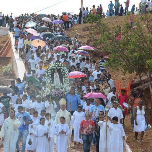 Itainópolis mantém tradição religiosa e celebra a festa de Nossa Senhora de Fátima; veja imagens