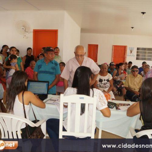Secretaria de Saúde realiza Dia 'D' e imuniza cerca de mil pessoas em Simões