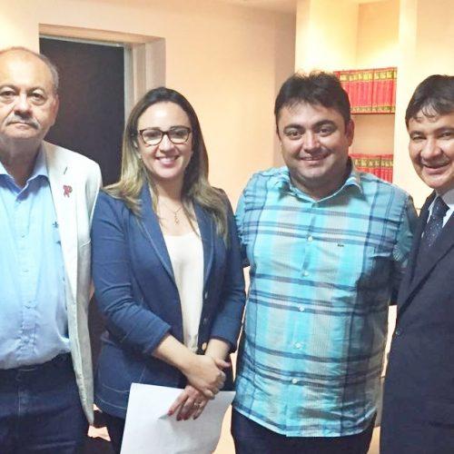 Em Audiência com Márcio Alencar, Wellington Dias autoriza obras para Alegrete do Piauí