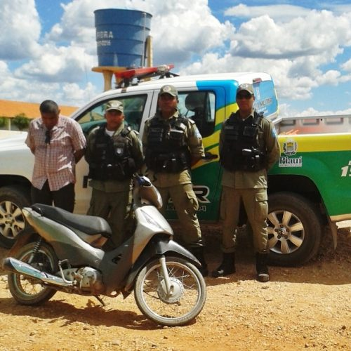 Moto roubada em Jaicós é recuperada pela polícia e suspeitos identificados. Veja!