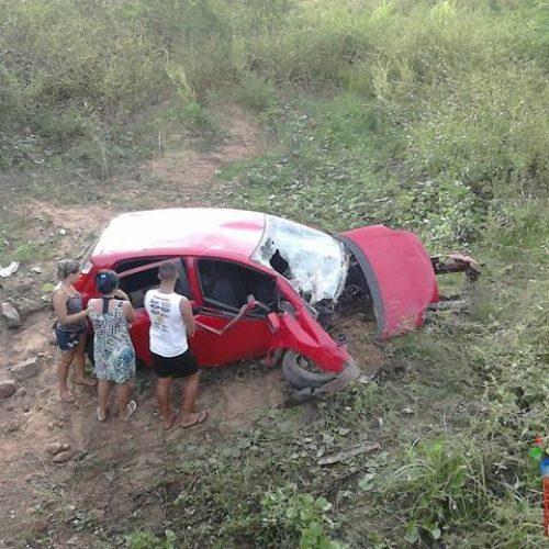 Acidente de carro deixa duas pessoas mortas no interior do Piauí