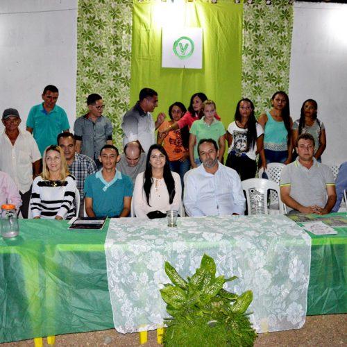 Teresa Brito visita Alagoinha do PI e cria a Executiva Municipal do PV
