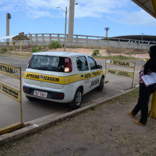 Detran leva mutirões de exames práticos para 14 cidades do Piauí