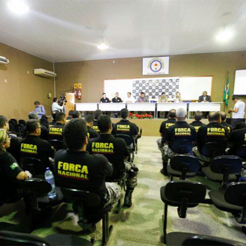 Policiais civis da Força Nacional ficarão no Piauí por mais 180 dias e atuarão em 4 municípios do interior