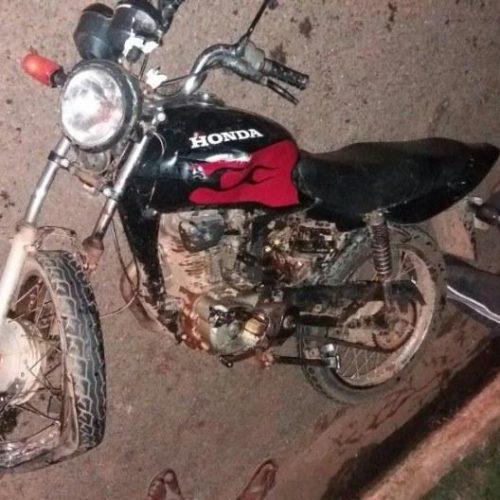 PICOS   Colisão na BR 316 deixa motociclista morto