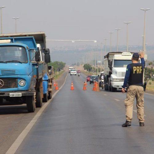 PRF registra 17 acidentes com 19 feridos em dois dias